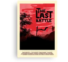 The Last Battle Canvas Print