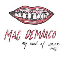 Mac Demarco my kind of tooth gap by emmilotta
