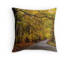 Cotswold Gold Throw Pillow