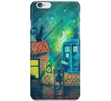 Tardis and Cats iPhone Case/Skin