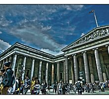 The British Museum by Tim Constable by Tim Constable