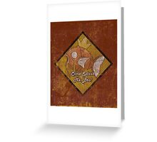 Magikarp:The Beast Within Greeting Card