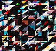 Abstract Shapes And Colors by perkinsdesigns