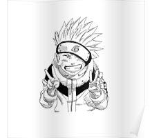 NARUTO: Naruto Kakashi Impression  Poster