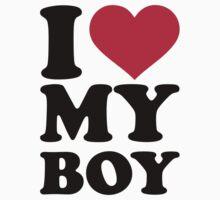 I love my boy by Designzz