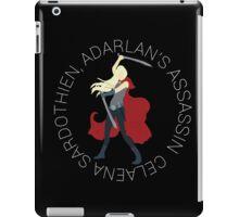 Minimalist - Celaena, Adaraln's Assassin iPad Case/Skin