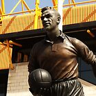 statue out side a football stadium by StuartBoyd