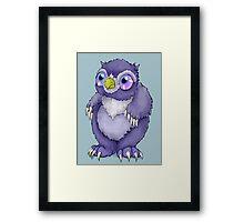 Baby Owlbear D&D Monster Framed Print