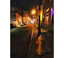 Saturday Night on State Street Photographic Print