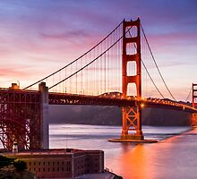 The Golden Gate  by Radek Hofman