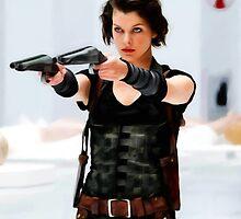 Milla Jovovich @ Resident Evil by Gabriel T Toro