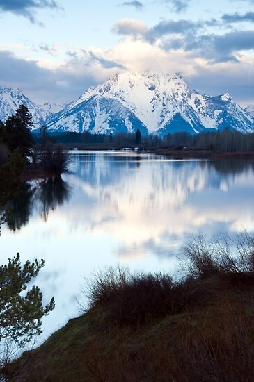 Oxbow Bend an early morning in May by Eivor Kuchta