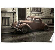 Car: A Portrait Poster