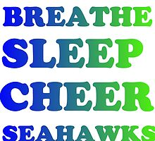 SEAHAWKS FOOTBALL by grumpy4now