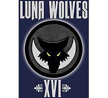 Luna Wolves XVI - Warhammer Photographic Print