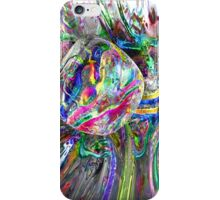 Frozen Rainbows Abstract iPhone Case/Skin