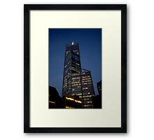 Perth Evening Framed Print