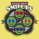 Mutant Ninja Smileys by hardwear