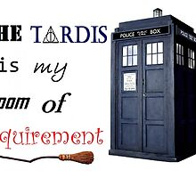 The TARDIS is my room of requirement by emsle