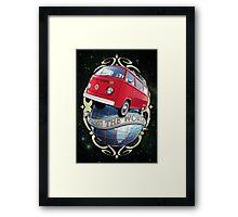 Cross the World - Bus T2 Framed Print