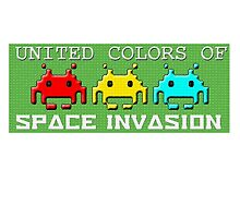 United Colors of Space Invasion by VictoriaDarby