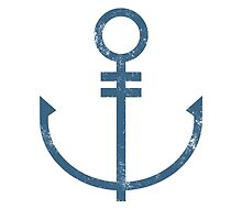 Anchor (Blue) by typeo