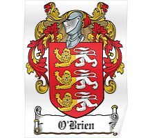 O'Brien Coat of Arms (Irish) Poster