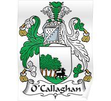 O'Callaghan Coat of Arms (Irish) Poster