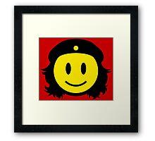 Che Guevera Smiley Framed Print