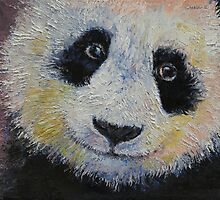 Panda Smile by Michael Creese