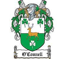O'Connell Coat of Arms (Clare, Ireland) Photographic Print