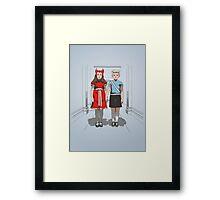 MAXIMOFF TWINS Framed Print