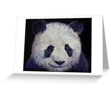 Baby Panda Greeting Card