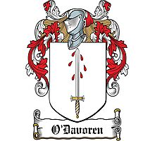 O'Davoren Coat of Arms (Clare) Photographic Print