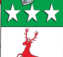 O'Dogherty Coat of Arms (Donegal) Sticker