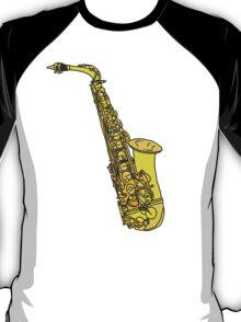 Sax Sketch T-Shirt