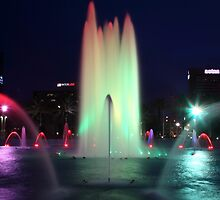 Fountain Colors by Carol Bailey White