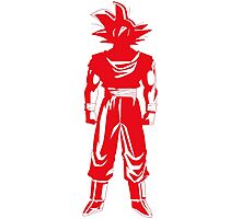 Warrior (red) Photographic Print