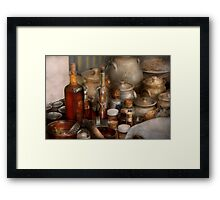 Chef - First class ingredients Framed Print