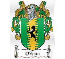 O'Hara Coat of Arms (Sligo) Poster