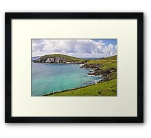 View to Dunmore Head - County Kerry - Ireland Framed Print