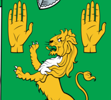 O'Keefe Coat of Arms (Cork) Sticker