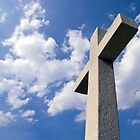 White Stone Cross by Kenneth Keifer