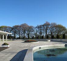 Preston Temple Forecourt - Good Friday, 2014 by SunriseRose
