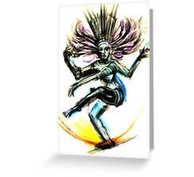 Nataraja Greeting Card