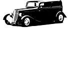 1933 Ford Sedan by garts