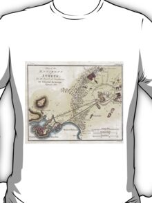 Vintage Map of Athens (1784)  T-Shirt