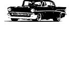 Chevy Bel Air 1957 by garts