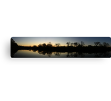 Hidden Mirror Lake, Lisle, IL  Canvas Print
