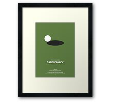 Caddyshack Movie Poster Framed Print